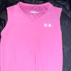 Under armor tight fit workout shirt